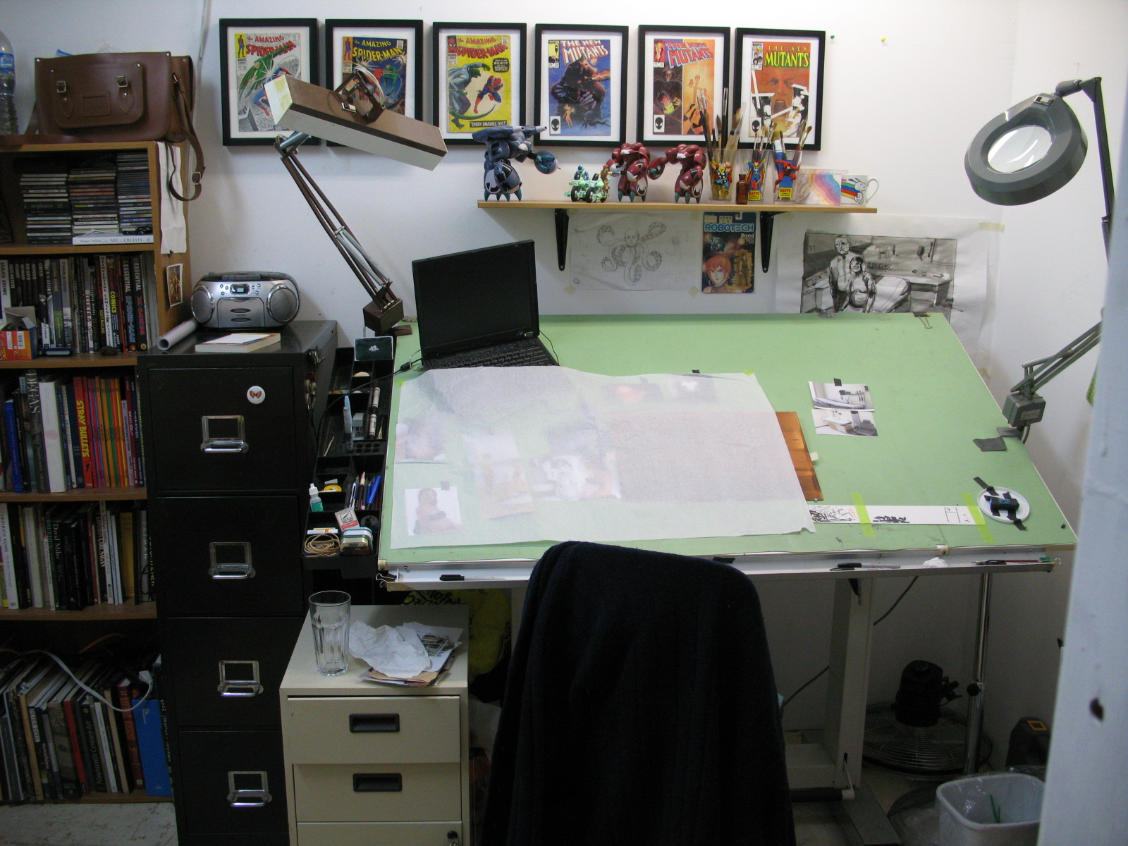 Download Wall Mounted Drafting Table Plans Plans Diy Large