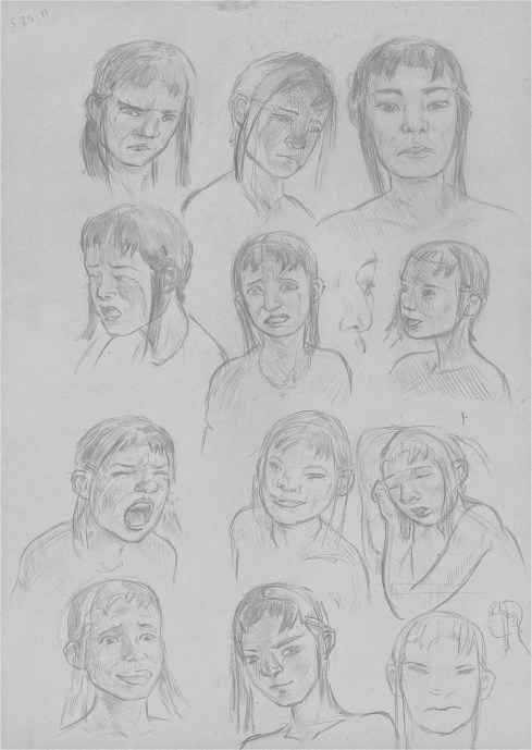Minmei Expressions Study Page 5