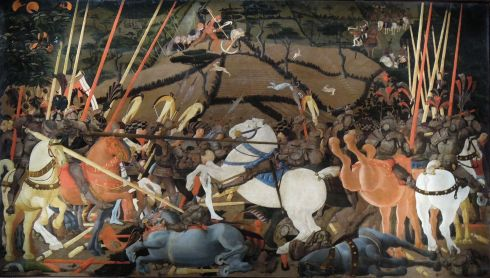 Uccello_Battle_of_San_Romano_Uffizi